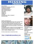 Brian Sullivan-Missing-CUE Poster